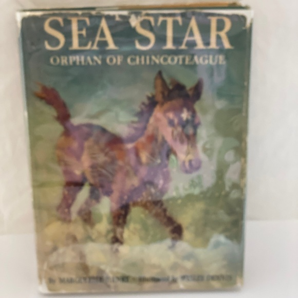 1949 1st First Ed. SEA STAR Marguerite Henry Book